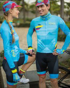 2019 Suarez Colombian National Federation Men/'s Pro Cycling BIB SHORTS