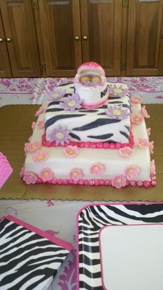 Baby Shower Cake for twin girls <3