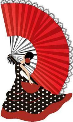 Abanico enorme! Flamenco