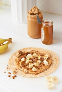 Recipe: Peanut Butter, Banana, and Granola Wrap — The 6-Minute Lunch