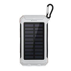 Aedon A5 10000mAh Cargador Solar Portátil, Externa Batería de Móvil con LED muy dispositivos Digitales y portátil brújula para los viajes de emergencia acampar al aire libre (blanco) - http://cargadorespara.com/comprar/solares/aedon-a5-10000mah-cargador-solar-portatil-externa-bateria-de-movil-con-led-muy-dispositivos-digitales-y-portatil-brujula-para-los-viajes-de-emergencia-acampar-al-aire-libre-blanco/