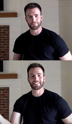 Chris Evans Beard, Wicked, Hot