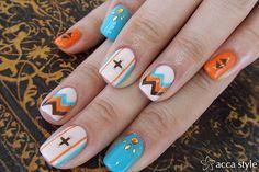 High Desert. Nail Art Manicure