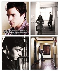 Such a cute and sad scene - Pretty Little Liars Pretty Little Liars, Ezra And Aria, Ezra Fitz, Grey Anatomy Quotes, I'm Still Here, Abc Family, Disney And More, Film Books, Cute Characters