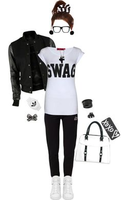 Monochrome Swag, I need this outfit!