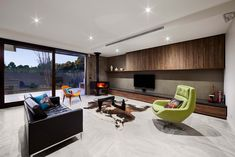 Residence in Australia Gets Contemporary Update with a Twist (Fres Home) House Design, Room Design, House, Interior, House Interior, Contemporary House, Interior Design, Home And Living, Living Room Designs