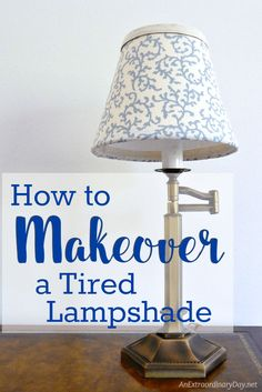 Great lamp... tired