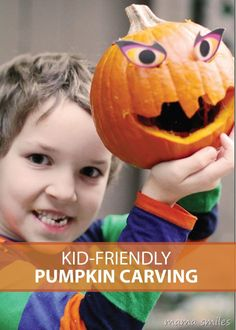Learn about the tools needed for fun, easy and safe pumpkin carving this Halloween with your family!