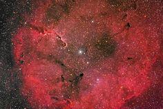 Emission Nebula IC 1396 by Unknown Artist
