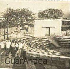 Teatro de Arena Rural dos Estudantes em Campo Grande RJ, nos anos 50