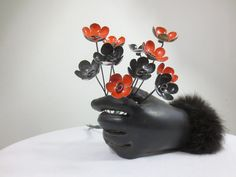 Lovely  Bouquet  of Orange and Black  Forever by thedustyraven