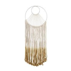Bloomingville Wall decoration macramé by Bloomingville - Macrame weaved from string are back in favor! Such wall decoration is simply created for Scandinavian and rustic style interiors, where it will