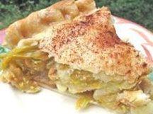 Apple and Green Tomato Pie from Renee's Seeds | Flea Market Gardening
