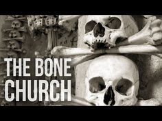 In the small Roman Catholic chapel in the Czech Republic, there's a chandelier made of every bone in the human body. If that wasn't morbid enough, the whole interior of the building is caked with the skeletal remains of between 40,000 and 70,000 people. | This Church Has A Chandelier Made Entirely Of Human Bones | IFLScience