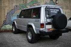 pajero tuning Mk1, Montero 4x4, Outlander 2017, Ford Maverick, Mitsubishi Pajero, 4x4 Trucks, Truck Accessories, Jdm Cars, My Ride