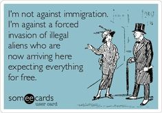 Double standards are SO you. Perhaps if you weren't such a close-minded jerk, you would see what a hypocrite you really are. Illegal Aliens, Double Standards, Paper Butterflies, Thing 1, Political Views, Political Quotes, Previous Life, God Bless America, E Cards