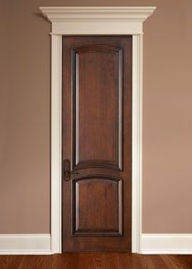 Mahogany Solid Wood Interior Door - Single