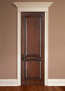 Mahogany Solid Wood Interior Door - Single