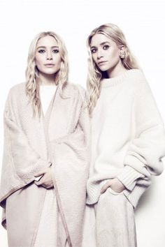 FINALLY! Net-A-Porter Taps The Olsen Twins For The Edit  #refinery29