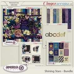 Shining Stars - Bundle by Aprilisa Designs
