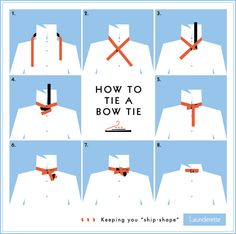 How To Tie A Bow Tie Tutorial Diagram    http://www.dresslaunderette.com/blog/how-to-tie-a-bow-tie