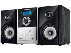 Micro System Mondial 1 CD 2 Caixas - 20W RMS MP3 USB - MS-06