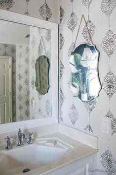 How to paint bathroom tile: floor, shower, backsplash | House Mix