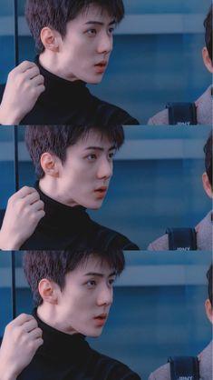 exo oh sehun Kris Wu, Baekhyun, Sehun Cute, Exo Lockscreen, Z Cam, Kpop Exo, Exo Members, Celebrity Dads, Celebrity Style