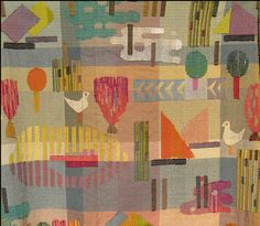 Gunta Stölzl (5 March 1897 – 22 April 1983) was a German textile artist who played a fundamental role in the development of the Bauhaus school's weaving workshop. As the Bauhaus's only female master she created enormous change within the weaving department as it transitioned from individual pictorial works to modern industrial designs