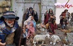 Pastori siciliani per presepe napoletano. Copyright by Menart