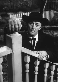 Robert Mitchum. Night of the Hunter.  One scary assed movie.