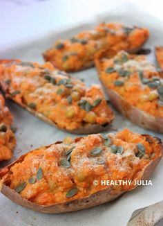 PATATES DOUCES AUX POIS CHICHES - Healthy Julia