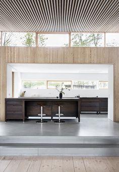 Architect Nikolaj Rahbek Ernst designed a home for a family who wanted a modern interpretation of a house. 1960s House, Interiors Magazine, Scandinavian Home, Interior Design Kitchen, Interior Modern, Interior Inspiration, Interior Architecture, House Ideas, New Homes