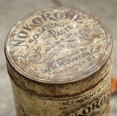 old tin