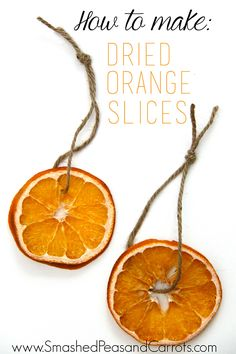 I made a bunch of Dried Orange Slices for decorating some gifts this year and I love the look of them. I think it's so fun to add a little something colorful to brown paper packages and as a bonus, since I added twine to these dried orange slices, they also work as an ornaments for …