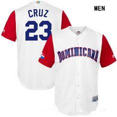http://www.jersey-kingdom.ru/Men&s-MLB-Jerseys/Men&s-Dominican-Republic-Baseball--23-Nelson-Cruz-Majestic-White-2017-World-Baseball-Classic-Stitched-Replica-Jersey-138007.html