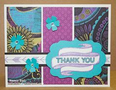 Nancy's CRAFTY blog: Last 2013 Card Class with Banner Wishes