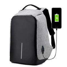 USB Set Damen Man Mode Schulrucksack Schultasche Rucksack Daypack Sportrucksack