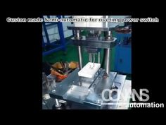 Custon made Semi automatic for riveting power switch