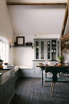 The Loft Kitchen Devol Kitchens Kitchen Spaces In 2019 Kitchen Loft Kitchen, Home Decor Kitchen, Country Kitchen, Kitchen Furniture, Kitchen Interior, Kitchen Dining, Countryside Kitchen, Furniture Stores, Cheap Furniture