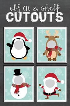 15 Free Elf on the Shelf Printables It's that time of the year again! Did your elf make an appearance in your house? Get some new elf ideas with these 15 Free Elf on the Shelf Printables! What's your favorite elf printable? Do you have some fun Elf on the Xmas Elf, Noel Christmas, Winter Christmas, Christmas Crafts, Christmas Decorations, Christmas Ideas, Christmas Photo Booth, Christmas Activities, Christmas Printables