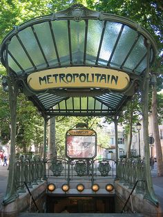 metropolitain, Paris