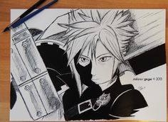 #Cloud #Strife from #FinalFantasy VII