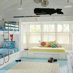 Kids cool bunks