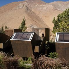 Astronomical hotel. Chile.