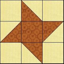Block of Day for January 24, 2014 - 9 Patch Star