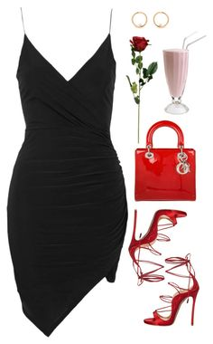 """Simple And Sexy❣️"" by love-rebelwolf ❤ liked on Polyvore featuring Topshop, Dsquared2 and Christian Dior"