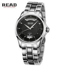 205.98$  Watch here - http://aliujb.worldwells.pw/go.php?t=32756615098 - READ watches calendar business men's watch automatic mechanical watches men's watches 8045 205.98$