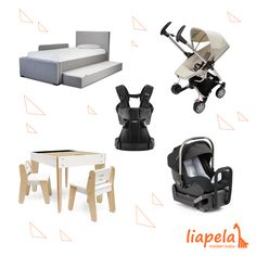 These gifts are perfect for mom, dad, and baby for the holiday season. Baby gear, while practical, makes the perfect splurge for the end of the year. Treat your family to something new and modern!   Shown above: @montedesign Dorma Bed (US)$995 @quinnyworld Zapp Xtra Folding Seat (US)$299.99 @babybjorn Baby Carrier One (US)$199.95 @pkolino Modern Children's Table and Chairs (US)$229 @nuna_usa Pipa Car Seat (US)$299.95 Like on Instagram @LiapelaModernBaby