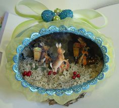 Easter Eggs... another cute egg idea